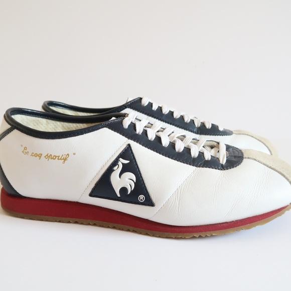 verschillende ontwerpen nieuw aangekomen nu kopen Unisex Le Coq Sportif Wendon Leather Running Shoes
